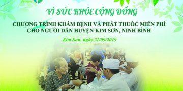 Dược phẩm Minh Quân tổ chức KHÁM BỆNH và PHÁT THUỐC MIỄN PHÍ cho người dân ở Ninh Bình